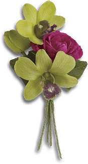Orchid Celebration Boutonniere Flowers