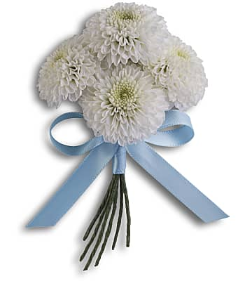 Country Romance Boutonniere Flowers