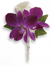 Fresh in Fuchsia Boutonniere Flowers