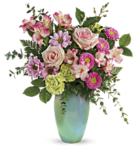 Teleflora's Enamored With Aqua Bouquet, picture