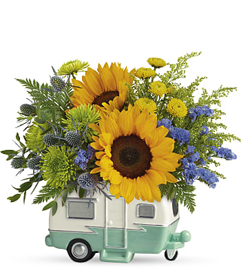 Retro Road Tripper Bouquet Flowers