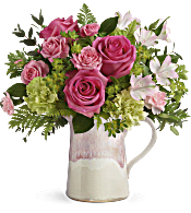 Teleflora's Heart Stone Bouquet Flowers