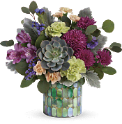 Marvelous Mosaic Bouquet Flowers
