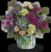 Marvelous Mosaic Bouquet Flowers