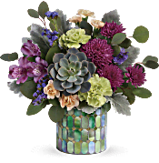 Teleflora's Marvelous Mosaic Bouquet Flowers