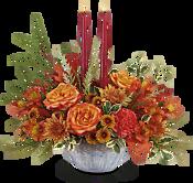 Bountiful Blessings Centerpiece Flowers