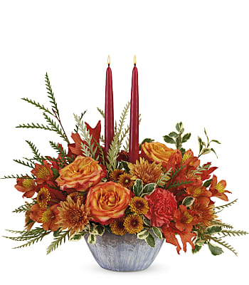 Bountiful Blessings Centerpiece Flowers