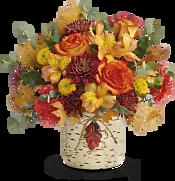 Autumn Colors Bouquet Flowers