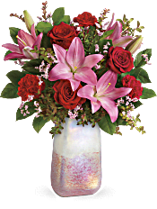 Teleflora's Pretty In Quartz Bouquet Flowers