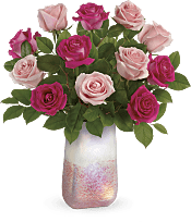 Rose Quartz Kisses Bouquet Flowers