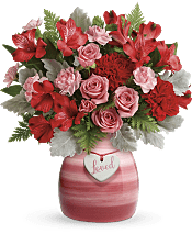 Playfully Pink Bouquet Flowers
