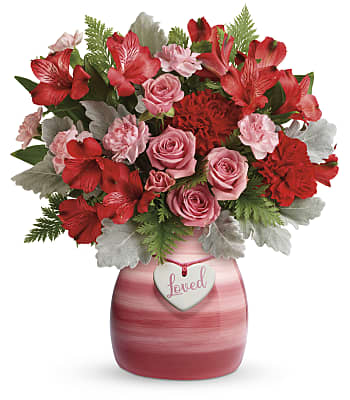 Teleflora's Playfully Pink Bouquet Flowers