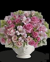 Bouquet Pot-pourri rose avec des roses de Teleflora