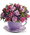 Teleflora's Cup of Roses Bouquet Flowers