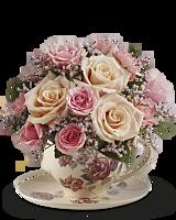 Bouquet Tasse de thé anglais de Teleflora