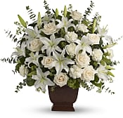 Loving Lilies and Roses Bouquet Flowers