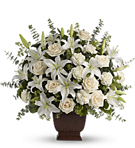 Teleflora's Loving Lilies and Roses Bouquet, picture