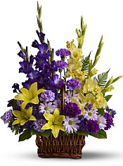 Basket of Memories Flowers