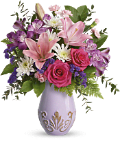 Lavishly Lavender Bouquet Flowers