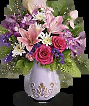 Teleflora's Lavishly Lavender Bouquet Flowers