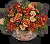 Teleflora's Copper Beauty Centerpiece Flowers