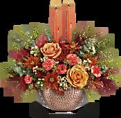 Teleflora's Gleaming Copper Centerpiece Flowers