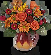 Teleflora's Autumn Glaze Bouquet Flowers