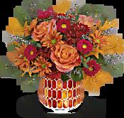 Teleflora's Autumn Aglow Bouquet Flowers