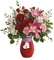 Charmed in Love Bouquet Flowers
