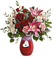 Teleflora's Charmed in Love Bouquet Flowers