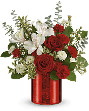 Crimson Crush Bouquet Flowers