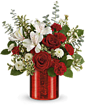 Teleflora's Crimson Crush Bouquet Flowers