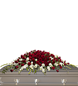 Garden of Grandeur Casket Spray, picture