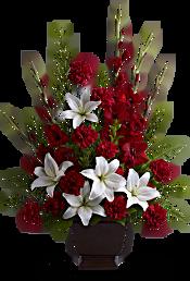 Teleflora's Tender Tribute Flowers