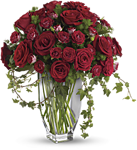 Teleflora's Rose Romanesque Bouquet - Red Roses, picture