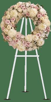 Peace Eternal Wreath Flowers