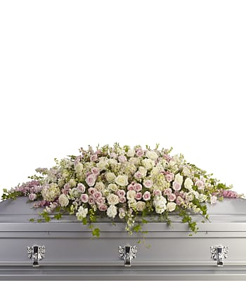 Always Adored Casket Spray Flowers