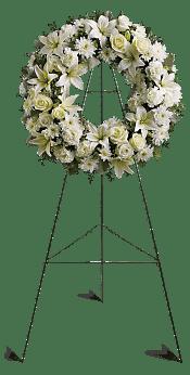 Serenity Wreath Flowers