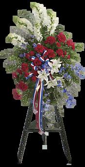 Sacred Duty Spray Flowers