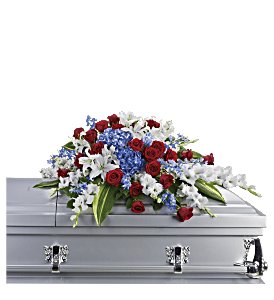 Distinguished Service Casket Spray, picture