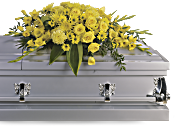 Graceful Grandeur Casket Spray Flowers