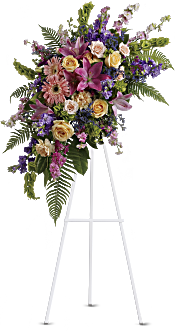 Heavenly Grace Spray Flowers