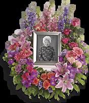 In Memoriam Wreath Flowers
