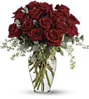 Full Heart - 16 Premium Red Roses Flowers