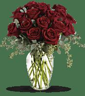 Forever Beloved - 30 Long Stemmed Red Roses Flowers