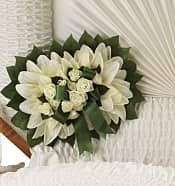 Pure Faith Pillow Flowers