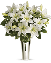 Sacred Cross Bouquet Flowers