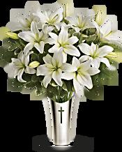 Teleflora's Sacred Cross Bouquet Flowers