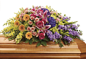 Garden of Sweet Memories Casket Spray Flowers