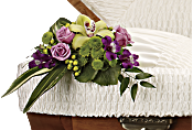 Dearest One Casket Insert Flowers